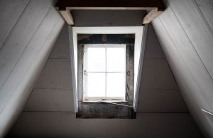 attic window, garret