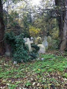 HIghgate Cemetery, old graves