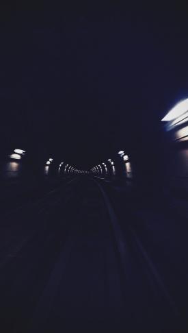 tunnel, darkness