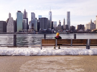 100 words about a bench with a view; 100 words about a happy couple