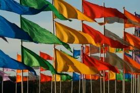 three line tales week eight: flags