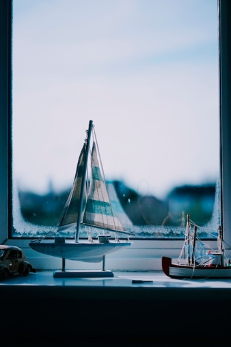 three line tales, week ten – toy sailboats