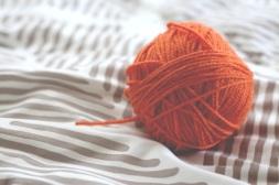 TLT week 33: a ball of orange wool