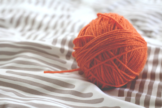 TLT week 33: a ball of orange wool