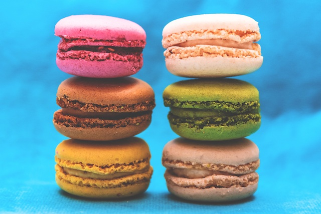 three line tales week 44: six macarons