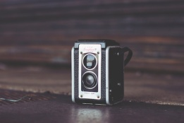 three line tales week 45: a vintage Kodak camera