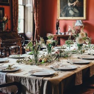 three line tales week 50: fancy dinner table