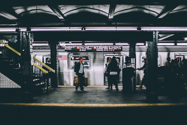 three line tales week 90: New York subway