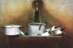 three line tales week 94: old pots in a sink