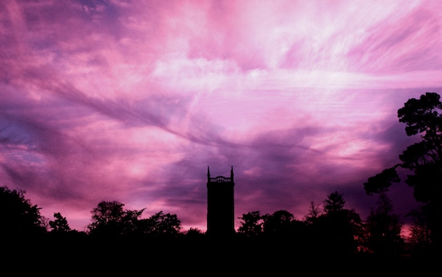 three lien tales week 99: a purple sky and a batman shaped belfry