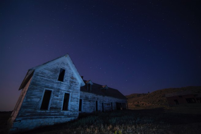 three line tales week 104: an abandoned house in the Arctic circle