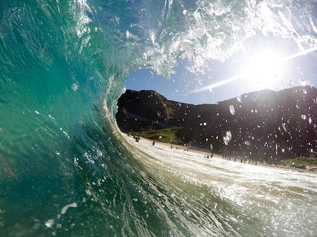 three line tales, week 109: inside the wave
