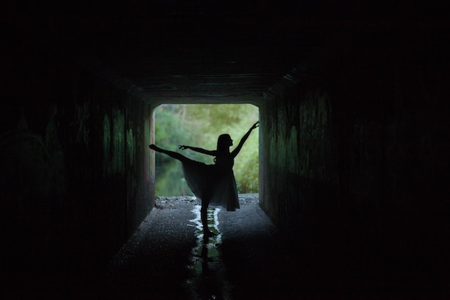 three line tales week 120: a ballerina in a dark underpass
