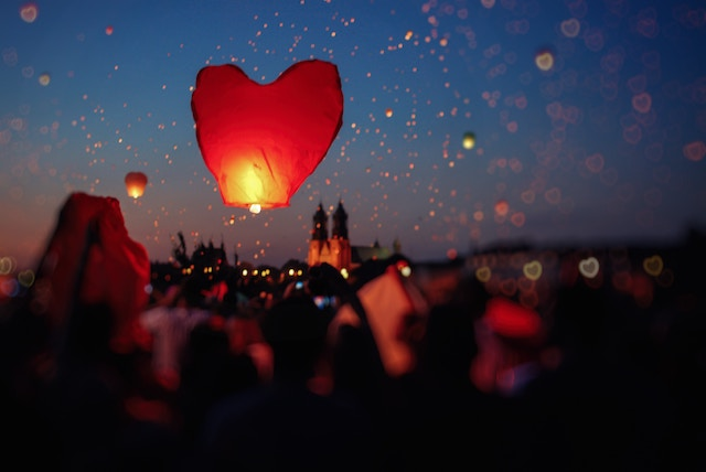 three line tales week 125: heart lanterns for summer solstice