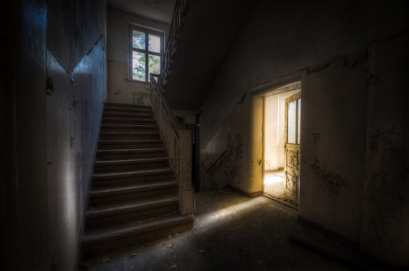 three line tales, week 137: an abandoned asylum
