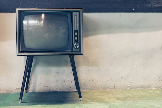 three line tales, week 138: an old television set