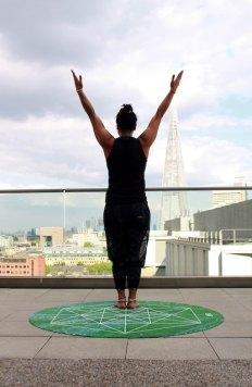 three line tales, week 172: yoga on a London rooftop