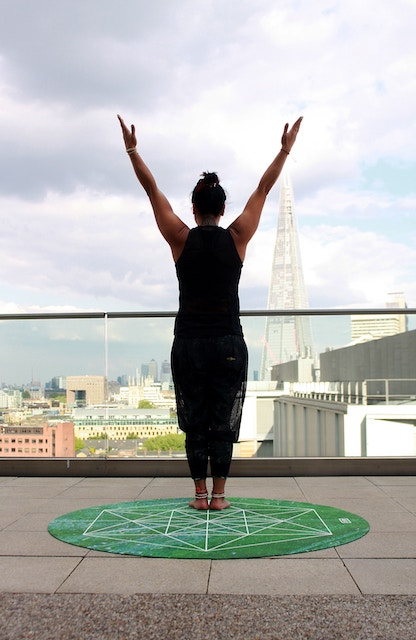 three line tales, week 172: yoga on a London rooftop
