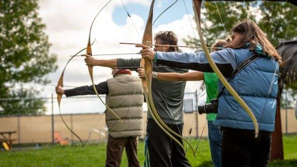 three line tales, week 176: archers