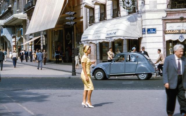 three line tales, week 177: a woman on a Paris street