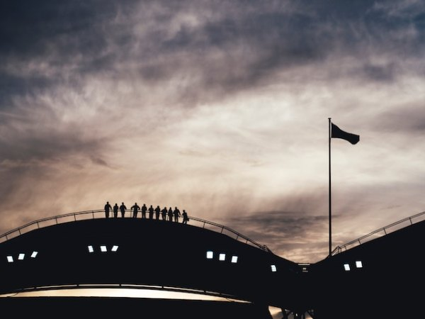 three line tales, week 183: the Ashes at the Adelaide Oval watched by people on the roof