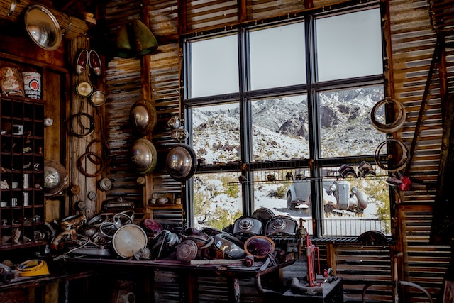 three line tales, week 222: a messy cabin in the mountains