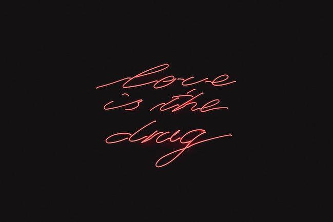three line tales, week 263:red neon love is the drug